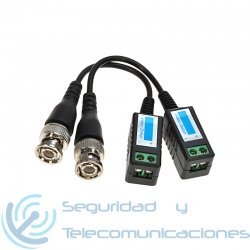 Conector BNC Balun de Vídeo para Cámara CCTV