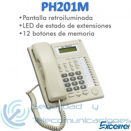 Teléfono Digital Operadora Excelltel PH201M