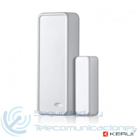 Sensor de Puertas y Ventanas Inalámbrico para Alarma WiFi-GSM