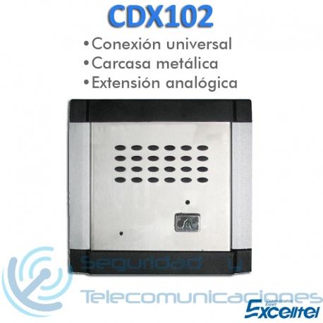 Portero Intercomunicador Analógico Excelltel CDX102