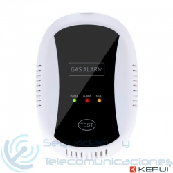 Sensor de Gas Inalámbrico