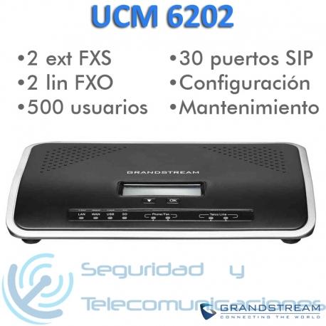 Centralita IP Grandstream UCM 6202