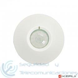 Sensor de Movimiento PIR 360º Cableado para techo