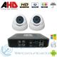 DVR AHD 720p 4ch + 2 Cámaras Interior