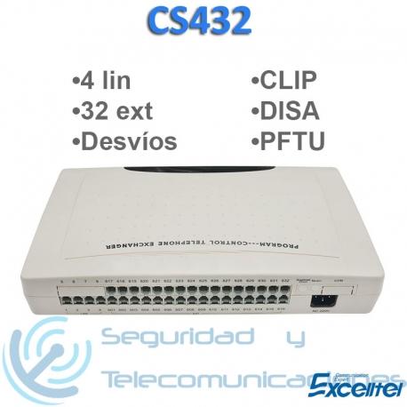 Centralita Telefónica Excelltel CS432