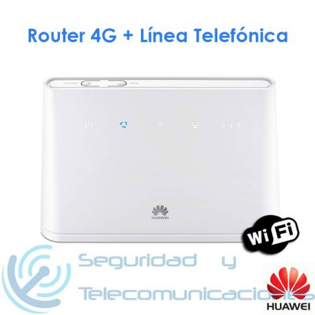 Modulo Gateway 4G GSM-PSTN Router Huawei