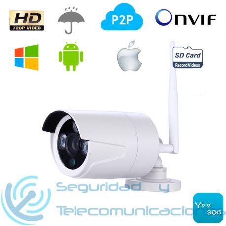 Cámara Exterior HD IP-WiFi para Alarma WiFi-GSM