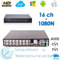 Grabador Digital DVR/NVR H.264 (16 canales)