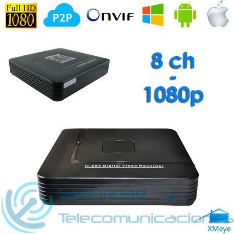 Grabador Digital NVR Tribrido AHD H.264 (4 canales)