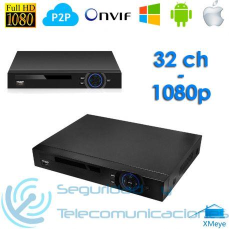 Grabador Digital NVR H.264 (32 canales)