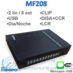 Centralita Telefónica Excelltel MF208 USB