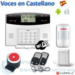 Kit Alarma GSM-PSTN-WiFi App