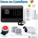 Kit Alarma WiFi-GSM G90B Plus + Cámara Exterior