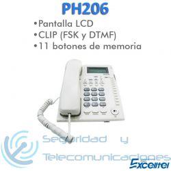 Teléfono Analógico Excelltel PH206
