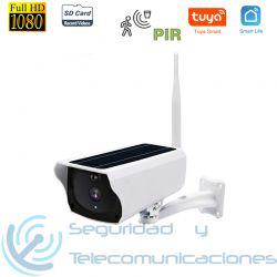 Cámara Solar Baterías IP-WiFi Tuya SmartLife