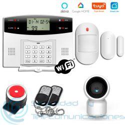 Kit Alarma GSM-PSTN App + Cámara PTZ