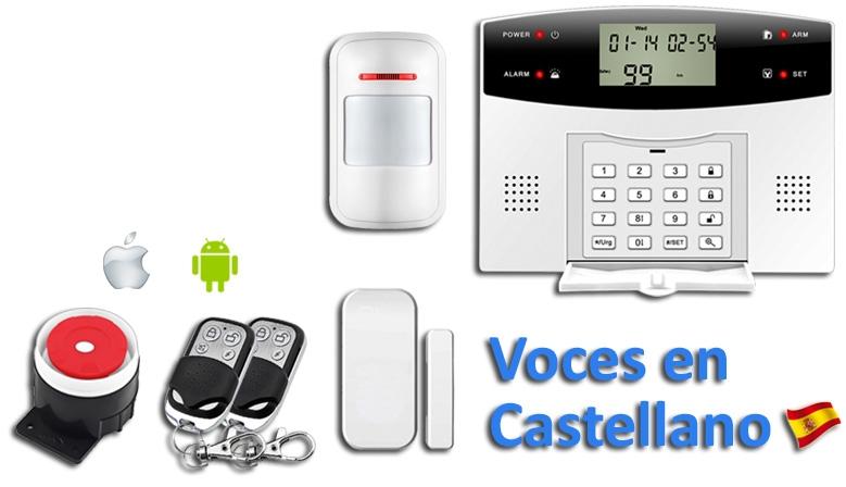 Kit Alarma GSM-PSTN App