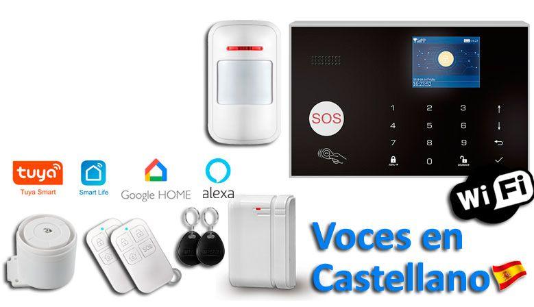 Alarma WiFi-GSM App Tuya SmartLife